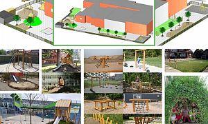 Schoolplein Basisschool De Zon