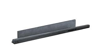 W13215 Betonnen onderplaat glad 3,4x24x184 cm antraciet
