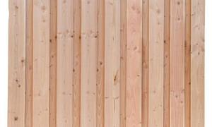 W41096 Douglas Plankenscherm (19 planks) geschaafd 180x180 cm blank
