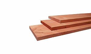 W31343 Douglas plank fijnbezaagd 15x140x3000 mm, onbehandeld
