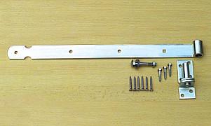 C103504  Duim-heng set compleet VERZINKT 500 mm
