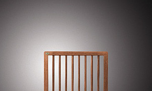 C103404  Bangkirai tuindeur recht in kader 80x100 cm
