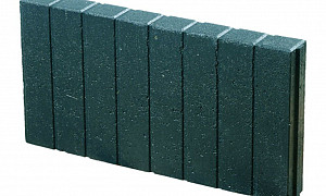 Quadroband 6x25x50 cm zwart