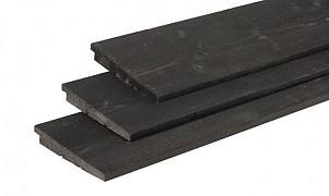 W1017062 Douglas Zweeds Rabat 12-27x195x4000 mm Zwart gedompeld