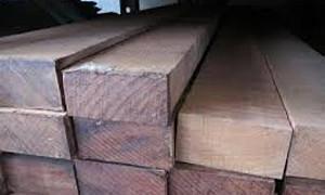 Hardhout Ruw Regel 50x100x3000 mm