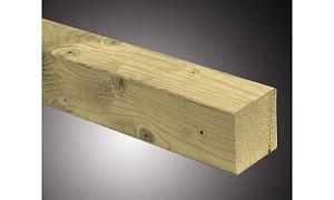C103038-300 Vurenhouten paal  45x45x3000 mm