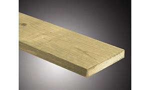 C103036-300 Vurenhouten plank  28x145x3000 mm