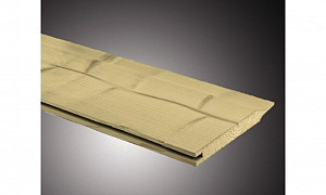 C103053-420 Vurenhouten rabat dubbel  19x130x4200 mm