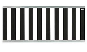 Design Hek aluminium antra 80x180 cm