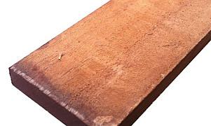 Hardhout Ruw Plank 20x200x4000 mm