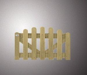 1608 - Vurenhouten deur toog reliëf afgerond  60x100 Op=Op