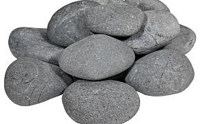 Beach Pebbles Zwart