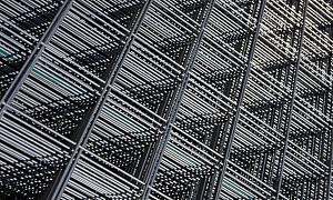 Stalen matten gegalvaniseerd