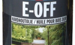 E-Off Hardhout olie