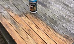 Reiniging hout