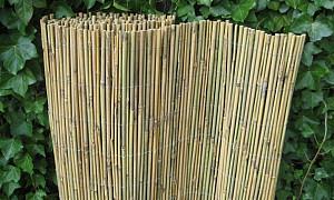 Bamboe mat